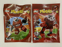 Retired LEGO Mixels Series 1 Infernites 41501 Vulk 41502 Zorch RARE New SEALED