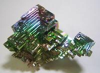 +++ Wismut Kristall // synthetisch +++ bismuth crystal Stufe Sammlung | Nr.6