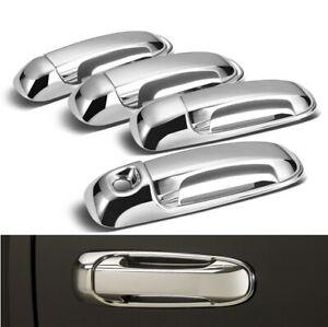 For 2002-2008 Dodge Ram 1500 / 2003-2009 Ram 2500 3500 Chrome Door Handle Covers