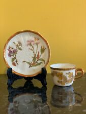 Royal Worcester Autumnal Blush Ivory Cup And Saucer