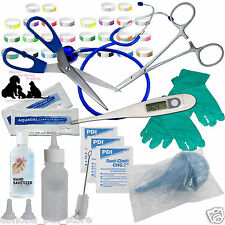 ABNOBA'S GREAT VALUE Whelping Kit Puppy Dog Kitten Milk Feeding Bottle 43 +Items
