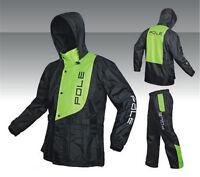 New Men's Outdoor Water-Resistant  Motorcycle Riding Raincoat Rain Pants Suit