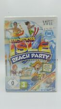 Vacation Isle: Beach Party (Sealed) (Nintendo Wii, 2010, DVD-Box)