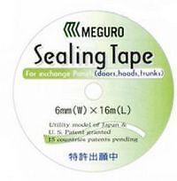 *3* Rolls Meguro Sealing Tape 6mm x 16mtr for Exchange Panels (Doors, Boots etc)