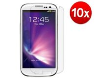 10 X SAMSUNG GALAXY S4 I9500 CLEAR SCREEN PROTECTOR GUARD FRONT i9500 S iv IV