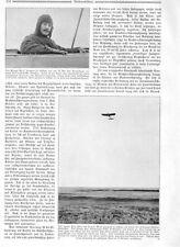 1910 Ärmelkanal Aviatiker Eindecker Lesseps