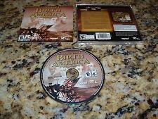 Birth Of America (PC, 2006) Game Windows