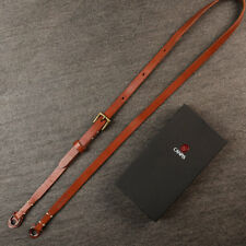 Brown CANPIS Adjustable Leather Camera Shoulder Neck Strap for Micro-camera