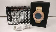Tokyoflash Kisai Zone Wood LCD Watch Near Mint Fast Shipping!