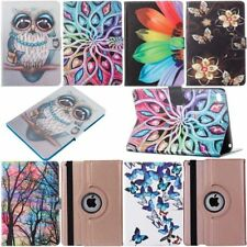 Painted Patterned Leather Stand Flip Case Cover For iPad 6th 5th 4 Mini Air Pro