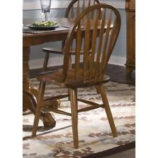Nostalgia Traditional Oak Arrowback Windsor Dining Chair Dining Room Home
