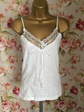 Joe Browns White Camisole Top Size 10 BNWT