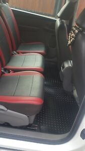 Seat Alhambra 2011 Onwards (new shape) Fully Tailored Car Mats in black