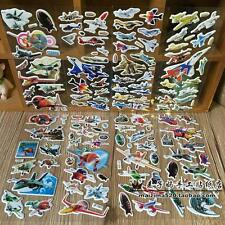 """5 sheets(no repeat) 3D Scrapbooking PVC STICKERS LOT"""" FIGHTER """"Kids GIFT"""
