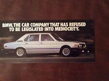 1979 BMW Small Sales Brochure