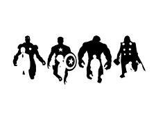 Decal Vinyl Truck Car Sticker - Marvel Comics Avengers