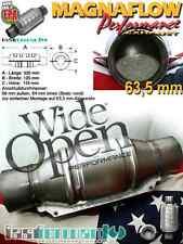 MF Magnaflow Acciaio Inox Catalizzatore sportivo 200 Celle 63,5mm/2.5 Pollici
