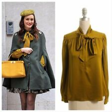 UPDATE New Blair Waldorf On Gossip Girl Diane Von Furstenberg Silk Blouse Top  0