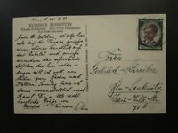 Germany 1934 Postcard w/ SC# 433 Single Franking - Z5711