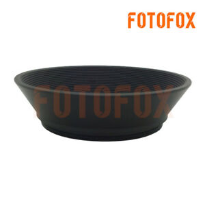 46mm 46 Professional Wide Angle Metal Lens Hood 46mm Screw In 46mm Filter Thread
