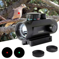 Holographic 1x40 Red Green Dot Laser Sight Rifle Scope for 11mm 20mm Rail Mount