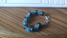with Austrian Crystal Stones Amazing Murano Beads Glass Bracelet
