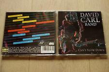 David Carl Band - Can't slow down - CD