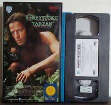 VHS FILM Ita Avventura GREYSTOKE La Leggenda Di TARZAN lambert no dvd(VHS19)