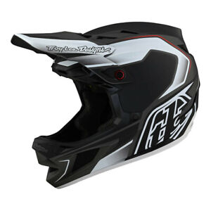 New Troy Lee Designs D4 Mountain Bike Helmet, TLD Exile, Black, Gray, XXL, 2XL