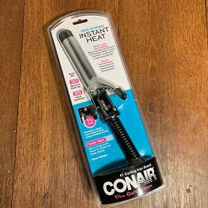 "Conair HOT STICKS Instant Heat 1-1/4"" Curling Iron 25 Heat Settings Dual Voltage"