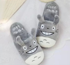 Totoro My Neighbour Anime Studio Ghibli Slippers Shoes! High Quality! UK seller