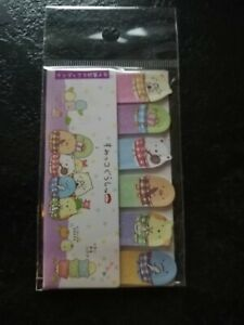 Sumikko Gurashi San X post it notes set cute kawaii Japan stationery mini