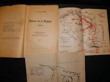 La défense de la belgique en 1940.Wullus Rudiger