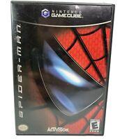 Nintendo GameCube Spider-Man Black Label Complete Tested Works