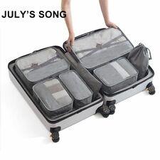 Travel Bag Set Clothes Underwear Shoes Case Storage Organizer Waterproof 7-Piece