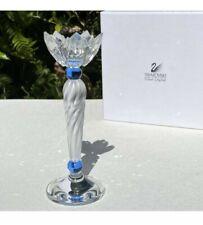 Swarovski Blue Flower Candleholder 7600Nr146000