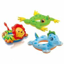 Intex Inflatable Baby Toddler Kid Animal Swim Ring Beach Pool Learning Float Toy