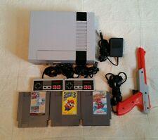 Nintendo NES Console NEW PIN connector Super Mario 1 2 3 Game Lot Bundle