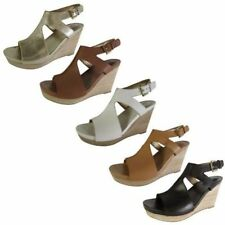 Women's Solid Platforms Wedges Sandals & Flip Flops