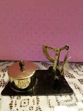 Vintage Postal Scale 2 Oz Withattached Stamp Holder Made In Japan