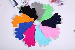 """LOOK"" Ladies Warm Winter Touchscreen Gloves, Mittens, Warm Hands UK STOCK"