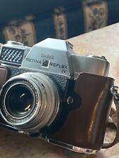 KODAK Retina Reflex IV Camera w Xenon 1.9 50mm Schneider Lens Manual & Case