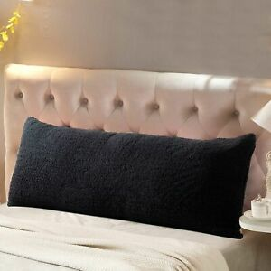 """Reafort Ultra Soft Sherpa Body Pillow Cover/Case with Zipper Closure 21""""x54"""""""