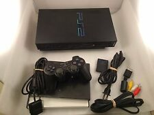 Original Sony PS2 Playstation 2 Console Bundle w/ Games!