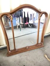 Mirror With Decorative Wooden Frame (1100mm Wide Ex Rossitano Stock)