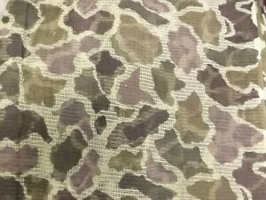 Vtg NEW Build-A-Blind 8 Yards Green Woodland Camo Hunting Mesh Fabric 24'x38""