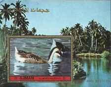 Timbre Oiseaux Canards Ajman ** lot 19518