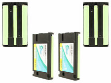 4x Battery for Panasonic HHR-P104, KX-TGA520M, KX-TG5240, KX-TG6502, KX-TG5621,
