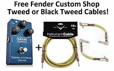 New MXR M288 Bass Octave Deluxe Bass Guitar Effects Pedal! Free Fender Cables!!