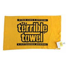 Original Terrible Towel NFL Pittsburgh Steelers Myron Cope Official Gold Towel